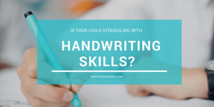 kids handwriting skills