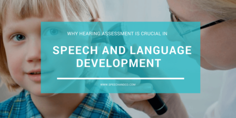 Hearing Assessment is crucial is speech and language development